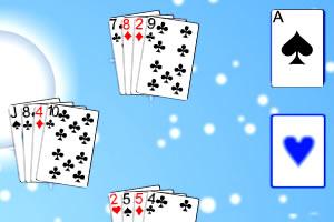 冬季纸牌接龙