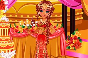 漂亮的印度新娘