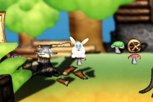 森林找兔子