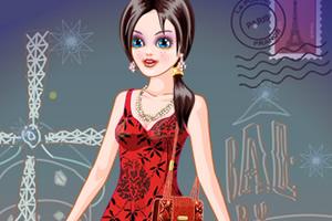 女孩在巴黎