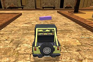 3D越野车停靠