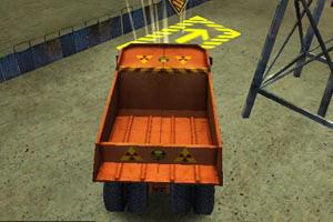 3D工业车停靠