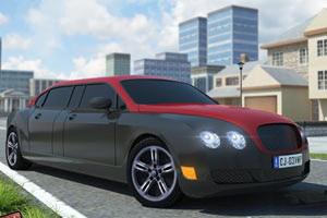 3D豪华轿车停靠