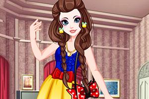 白雪公主时尚造型