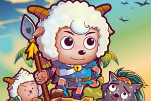 羊年喜羊羊大拼图