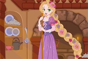 长发公主偷懒小游戏_长发公主打扫房子,长发公主打扫房子小游戏,4399小游戏 www.4399.com