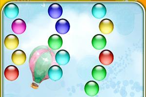 青蛙彩球泡泡龙