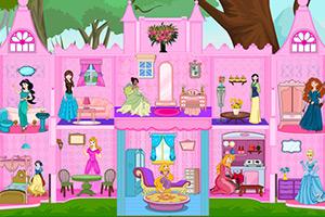 布置公主娃娃房