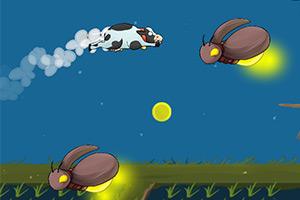飞行的奶牛