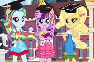 三姐妹毕业了