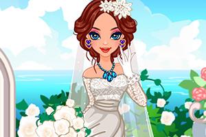 春天里的美新娘