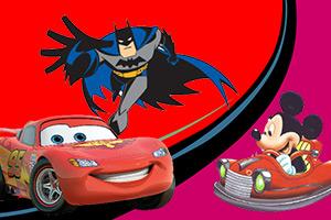 卡通英雄赛车2