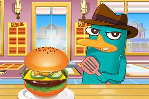 泰瑞制作美国汉堡