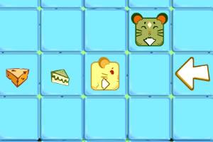 小鼠吃奶酪