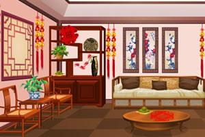 农历新年房间装饰