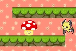 蘑菇小子下降