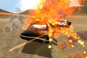 沙漠危险飞车