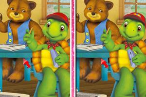 小龟和朋友找茬