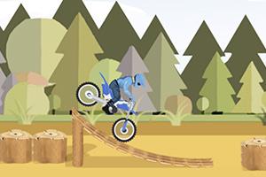 森林公园摩托赛
