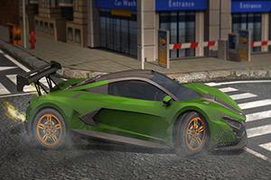 3D跑车停靠