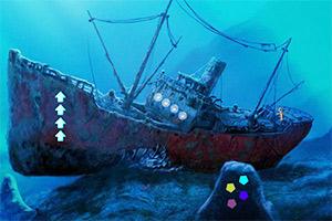 海底沉船逃生