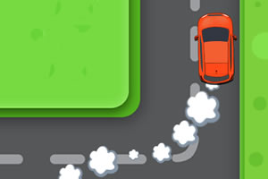 汽车急转弯