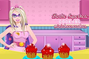 芭比的迷你奶酪蛋糕