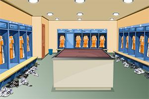 足球运动员休息室逃脱