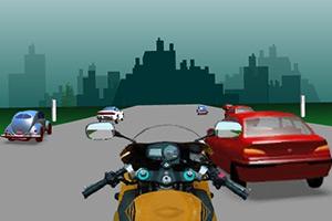 第一视角摩托赛车