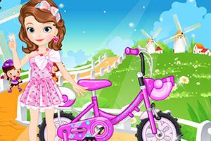 骑自行车的索菲亚