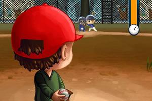 棒球小子画线击球
