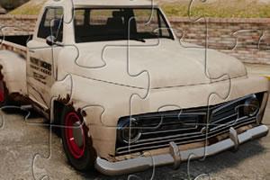 生锈的卡车拼图