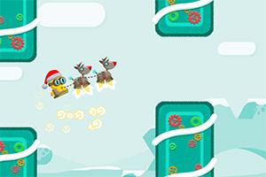 圣诞猫咪飞翔记