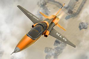 3D军用飞机驾驶