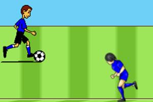 足球小子带球过人