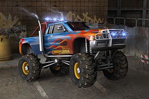 3D怪物车试驾