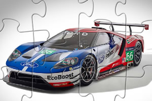 福特GT赛车拼图