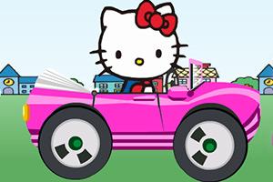 凯蒂猫开车