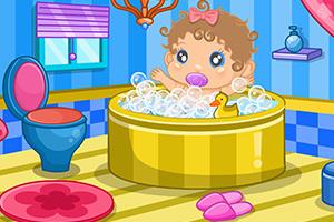 宝宝的浴室