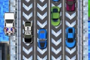未来汽车停车