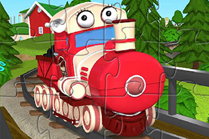 提莉火车拼图