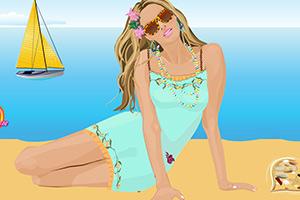 坎迪斯的沙滩装扮