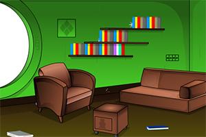 绿色宝藏小屋逃脱