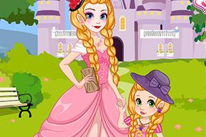 长发公主和女儿