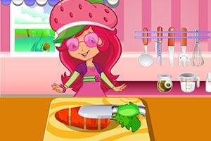草莓公主做饭