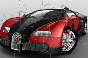 布加迪汽车拼图