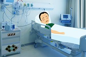 病人逃出医院