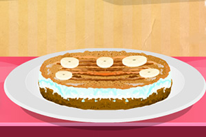 香蕉巧克力蛋糕