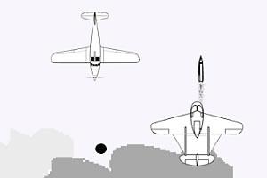 黑白飞机大战