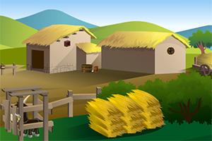 救援农场里的山羊